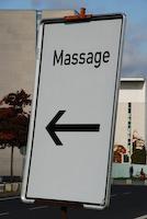 Massage im Bundeskanzleramt