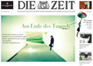 Die Zeit - Titelblatt